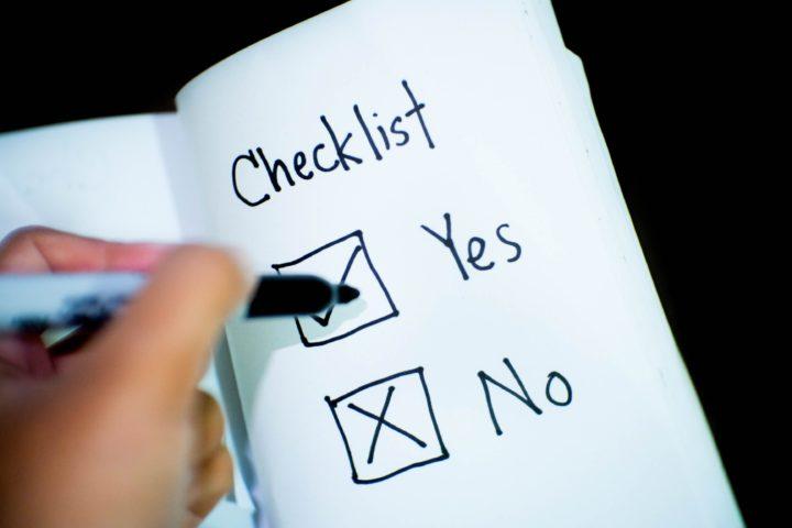 Mindful Eating Checklist
