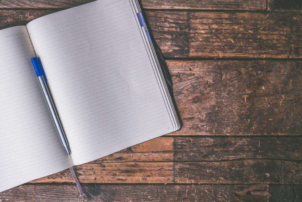 Journaling when under pressure can help reduce stress!